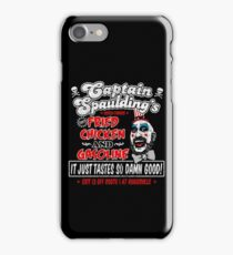 Captain Spaulding Fried Chicken & Gasoline iPhone Case/Skin