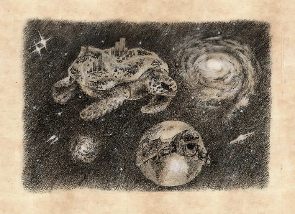 Turtle Universe by AnnaShell
