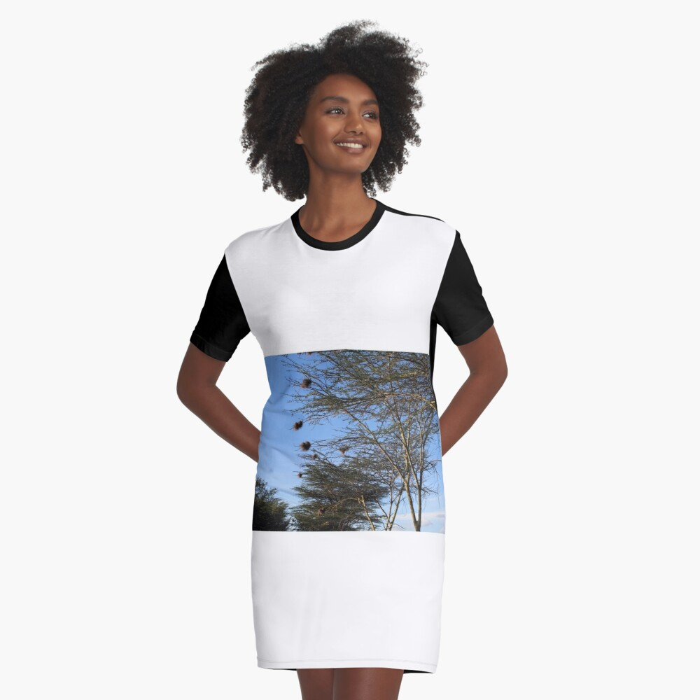 The Nest Collection Graphic T-Shirt Dress