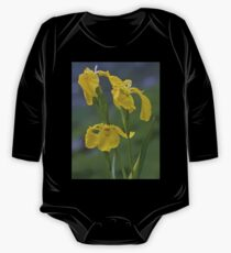 Yellow Flag Iris - Donegal One Piece - Long Sleeve