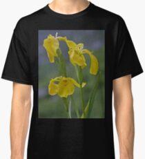 Yellow Flag Iris - Donegal Classic T-Shirt