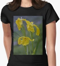 Yellow Flag Iris - Donegal Women's Fitted T-Shirt