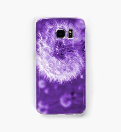 Purple Dandelion Time Peace Samsung Galaxy Case/Skin