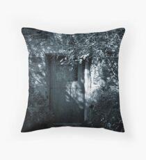 Cottage Door, Hepburn Springs Throw Pillow