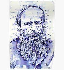 DOSTOYEVSKY portrait Poster