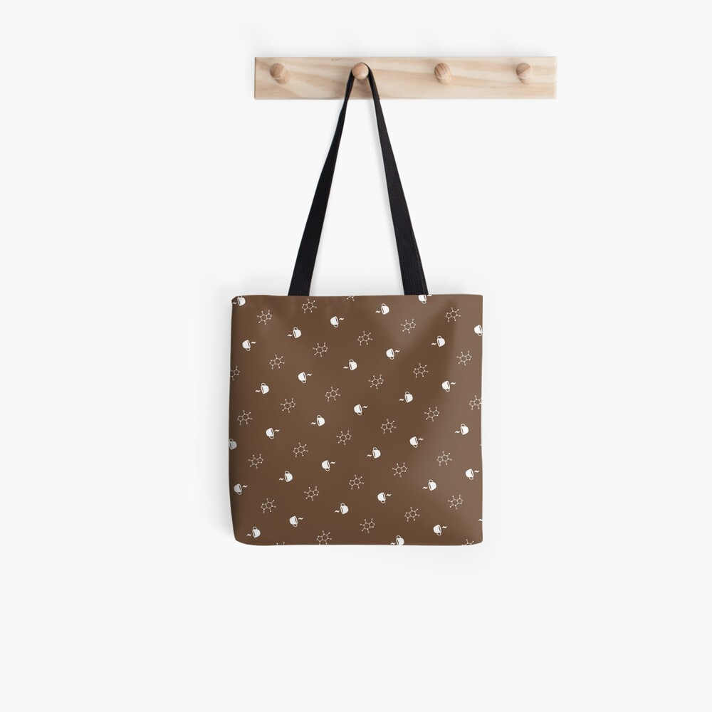Caffeine & Coffee Tote Bag