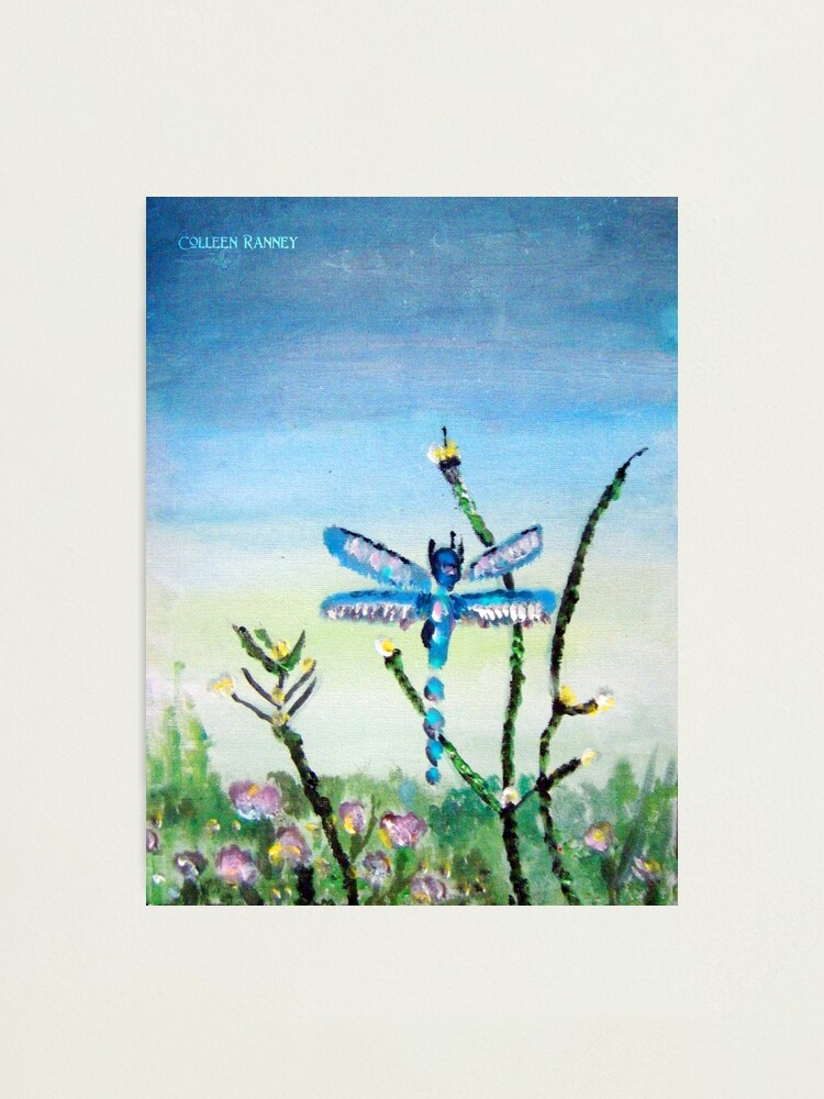 Alternate view of Dragon Fly by Colleen Ranney Photographic Print