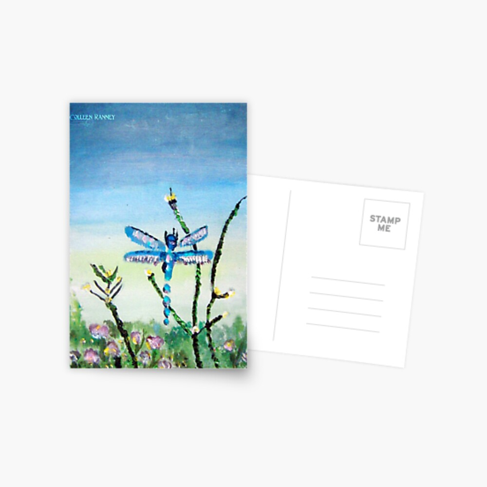 Dragon Fly by Colleen Ranney Postcard