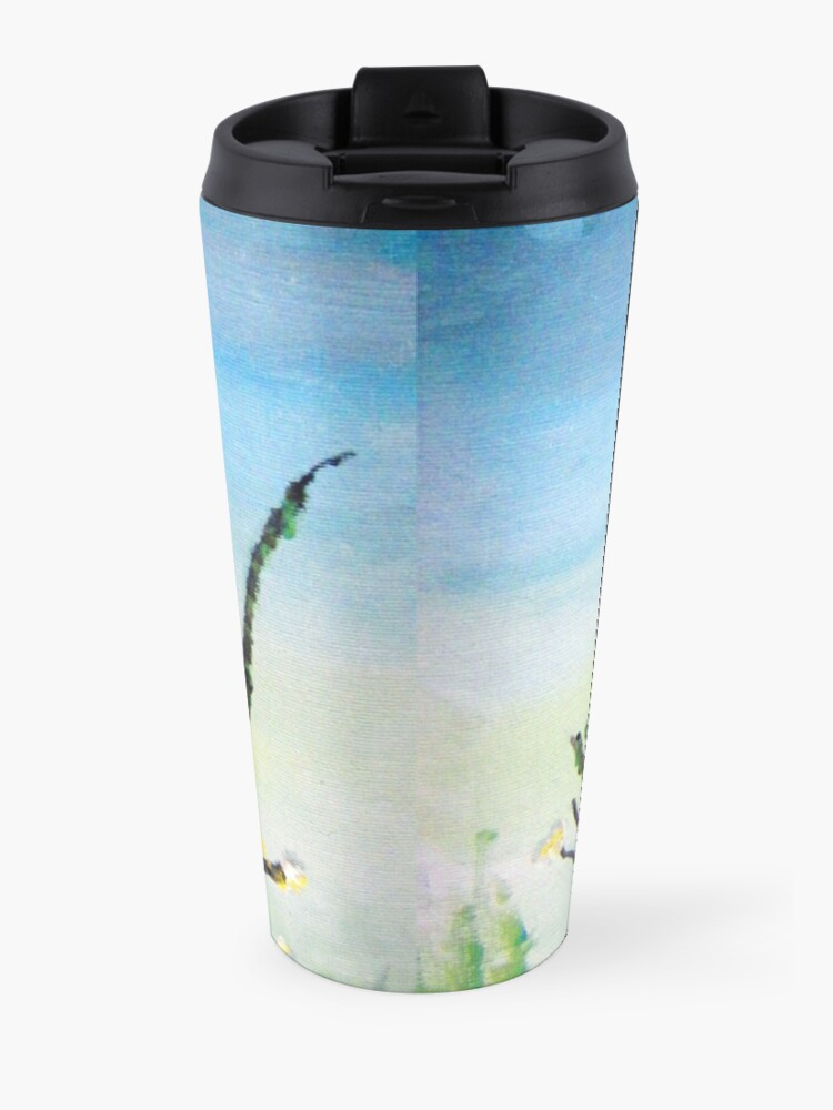 Alternate view of Dragon Fly by Colleen Ranney Travel Mug