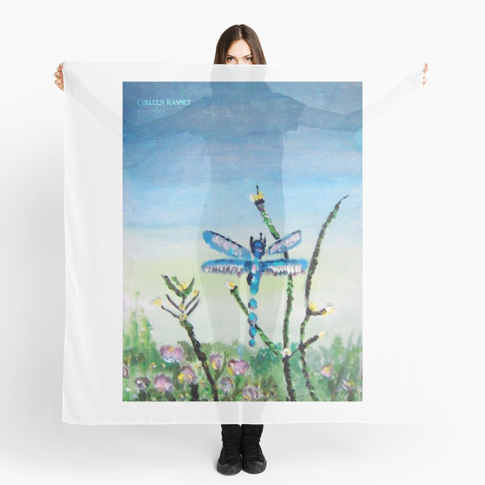 Dragon Fly by Colleen Ranney Scarf