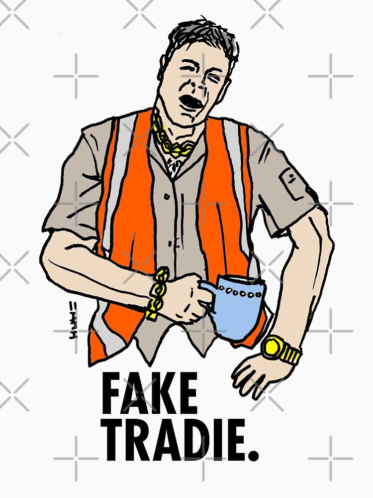 Fake Tradie Liberal Party faketradie by sketchNkustom