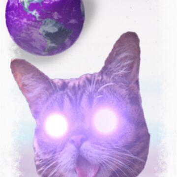 SPACE CAT  by mattybindahizzy
