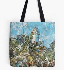 Isla Mujeres Lighthouse Tote Bag