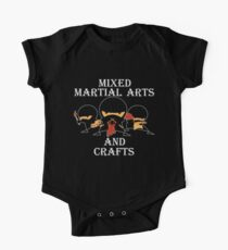 Mixed Martial Arts And Crafts Kids Clothes