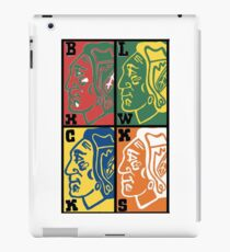 Four Colors Logo iPad Case/Skin