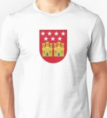 Coat of Arms of the Community of Madrid (Shield) Unisex T-Shirt