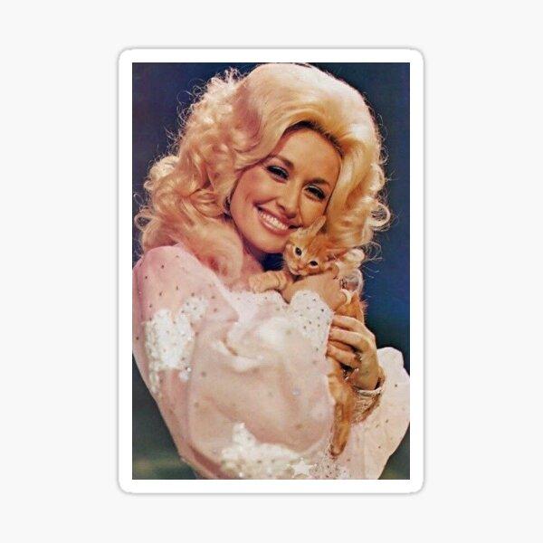 Dolly Parton Kätzchen Sticker