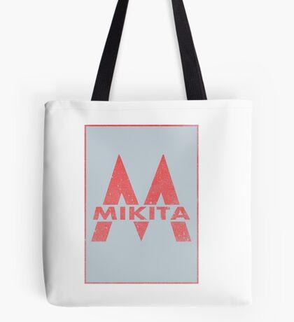 Retro 60's CTA Sign Mikita Tote Bag