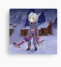 Blood Elf from WoW Canvas Print