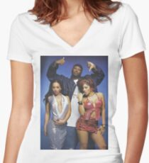Project Pat Women's Fitted V-Neck T-Shirt