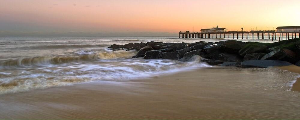 Sunset beach by traceyshep1