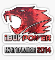 iBUYPOWER Holographic Sticker Sticker
