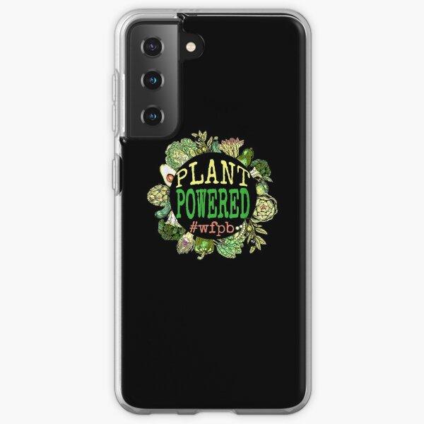 Plant Powered Wfpb Whole Food Plant Based Vegan Graphic  Samsung Galaxy Soft Case