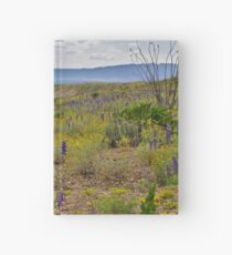 Bluebonnets in Big Bend NP Hardcover Journal