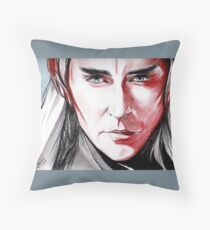 Lee Pace as Thranduil, sanguine Throw Pillow