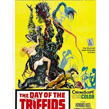 The Day of the Triffids Retro Movie Pop Culture Art by BuzzArtGraphics