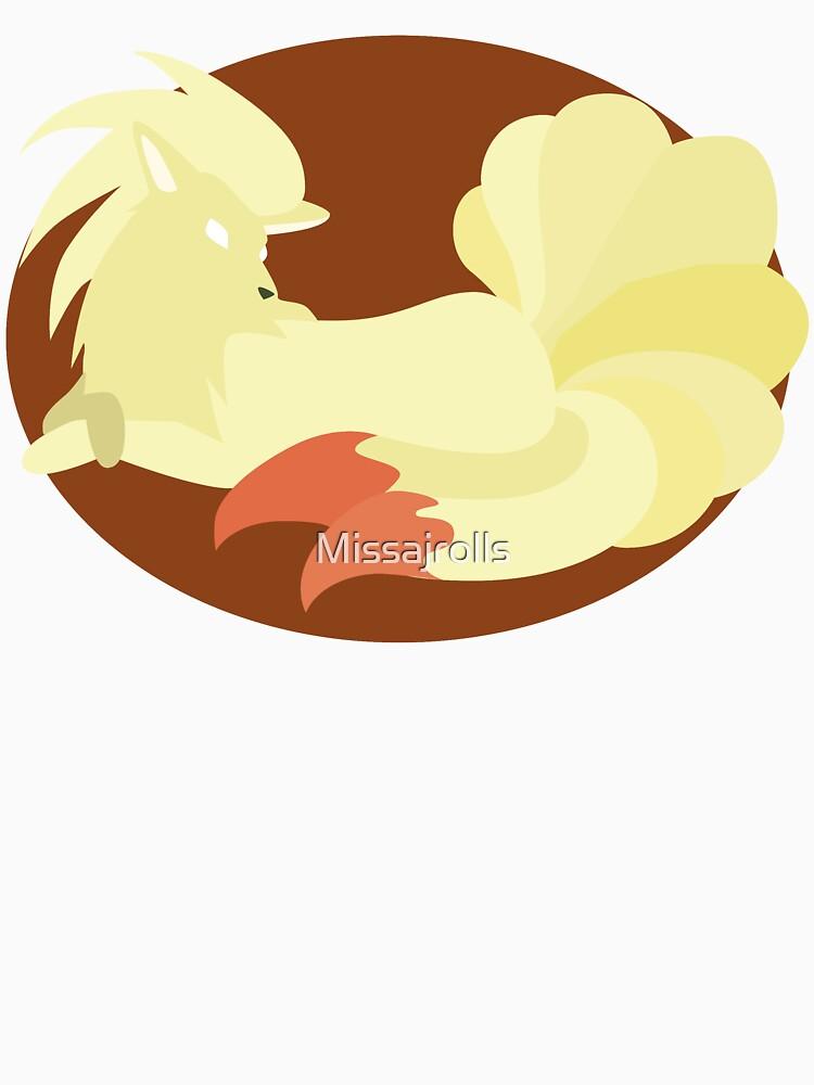 Ninetails - Basic by Missajrolls
