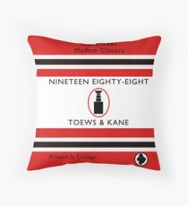 Nineteen Eighty Eight Book Cover Throw Pillow