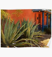 Agaves in the Barrio Poster