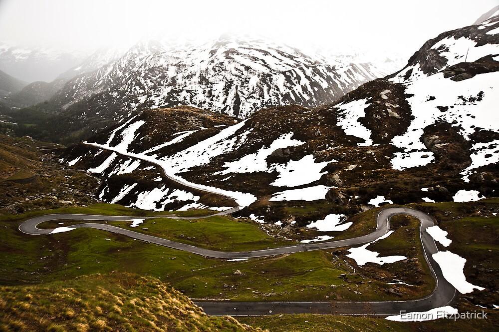 Italian Alpes by Eamon Fitzpatrick