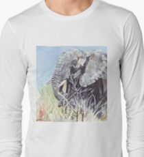 'Time to Retreat' - The Painting Long Sleeve T-Shirt