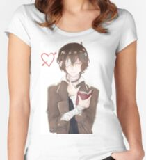 Bungou Stray Dogs Women's Fitted Scoop T-Shirt