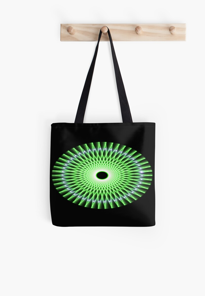 Green Spinning Wheel by ellemiller