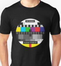 TV No Signal Unisex T-Shirt