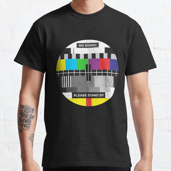 TV No Signal Classic T-Shirt