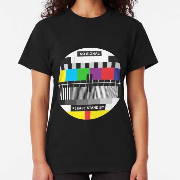 TV No Signal Camiseta clásica