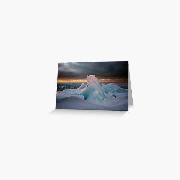 First Light, Lake Superior Greeting Card