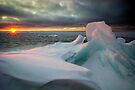 The Break of Day, Lake Superior by Michael Treloar