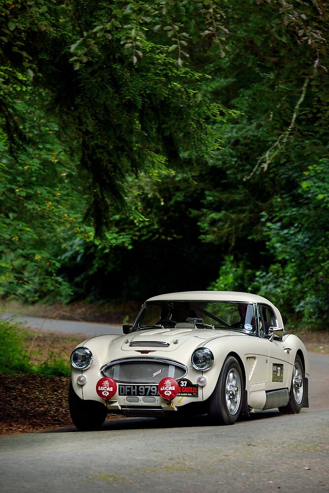 The Three Castles Welsh Trial 2014 - Healey 3000 MK11/A by Three-Castles