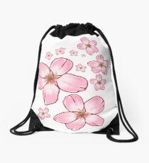 Sakura Blossoms  Drawstring Bag