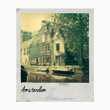 Polaroid - Amsterdam by exactablerita