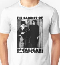 Caligari Poster b/w with lettering T-Shirt