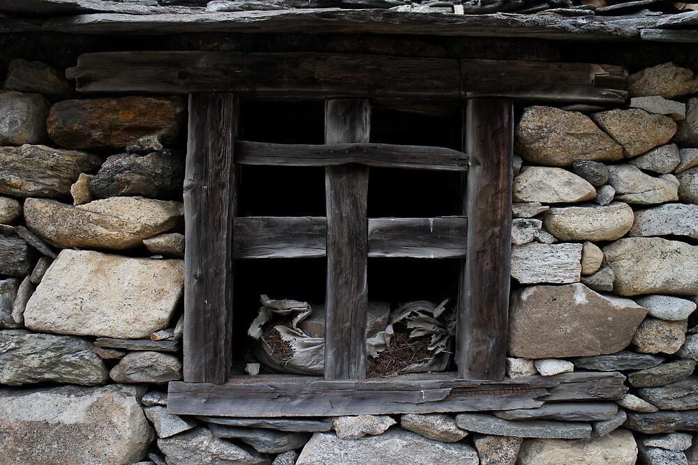 an abandond hut by roibrandeis