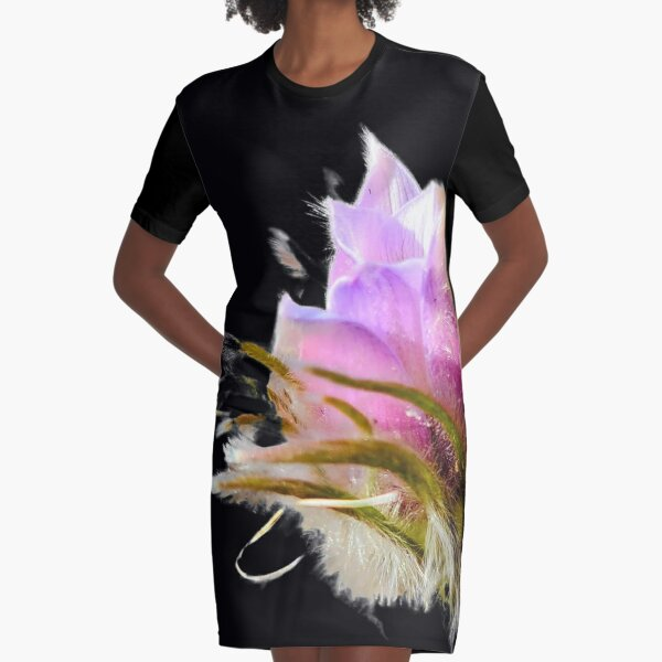 Pasque in Bloom Graphic T-Shirt Dress