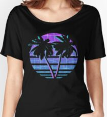 Palm Trees Relaxed Fit T-Shirt