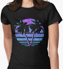 Palm Trees Fitted T-Shirt